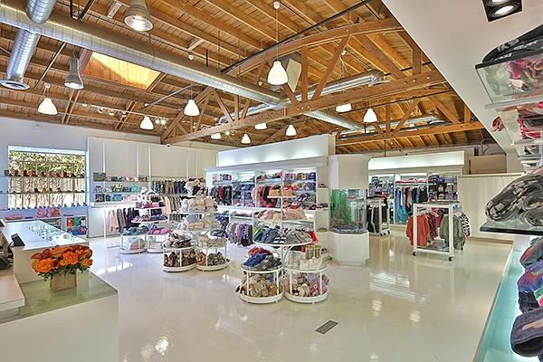 Ron Robinson's Santa Monica boutique