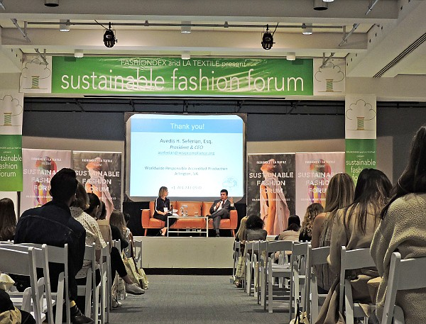 Fashiondex S Sustainable Fashion Forum Addresses Solutions In Apparel Production California Apparel News
