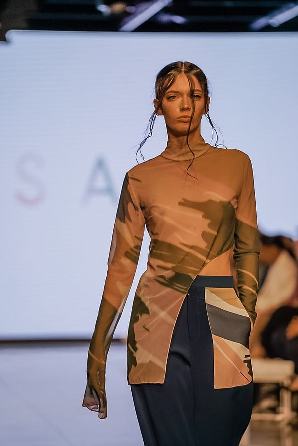 Salisa at LA Fashion Week. Image courtesy Salisa