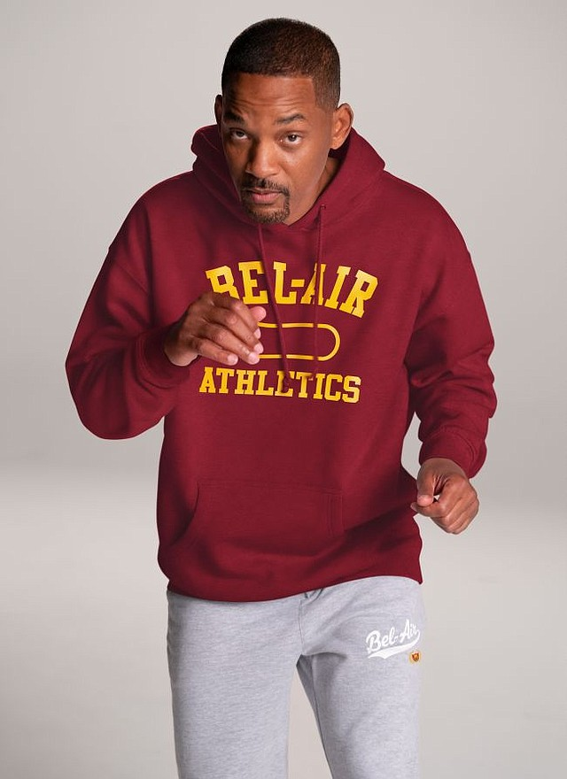 Will Smith in Bel Air Athletics. All pictures courtesy of Bel Air Athletics