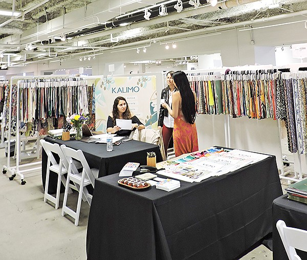 Kalimo booth at LA Textile