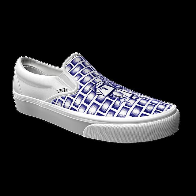 Van's Foot The Bill sneaker for 510 Skateboarding. Image courtesy Vans
