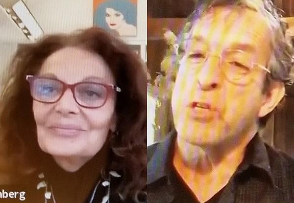 Diane von Furstenberg and Kenneth Cole