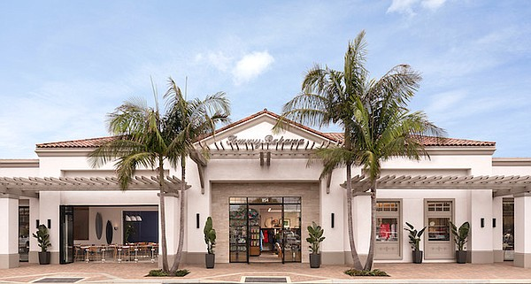 Tommy Bahama in Newport Beach, Calif. All images courtesy of Tommy Bahama