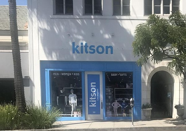 Exterior of Kitson in Beverly Hills. Photo courtesy Kitson