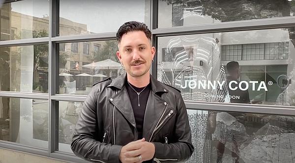 Jonny Cota stands in front of his Row DTLA store Photo: Jonny Cota