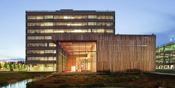 United States Census Bureau headquarters in Suitland, Md.