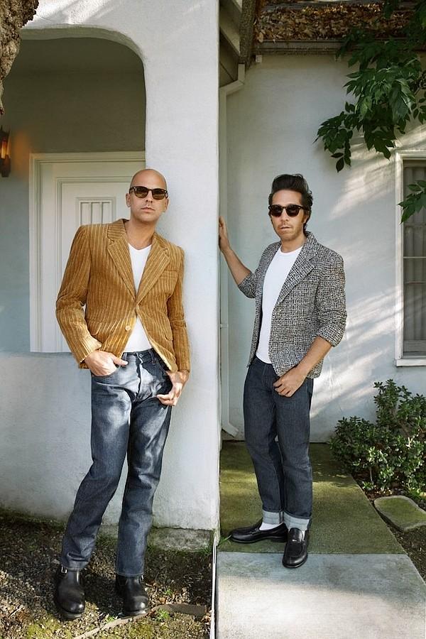 Claude Morais, left, and Brian Wolk. Photo by Fiorella Occhipinti