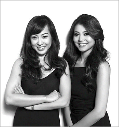 Senreve co-founders Coral Chung and Wendy Wen. Photo: Senreve