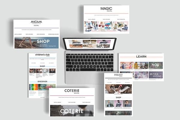 Informa Markets Fashion's portfolio of digital offerings