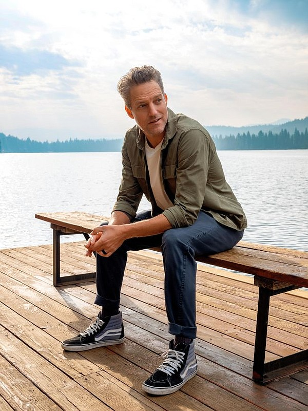 Jon Rose in Dockers styles that use the brands' Water<Less fabrics. Photos courtesy Dockers
