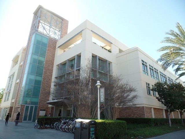 Beckman Hall at Chapman University, where The Anderson Center For Economic Research is located. Courtesy Chapman University