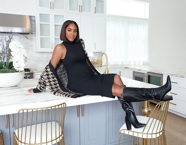 Kelly Rowland in Kelly Rowland for JustFab. Photo: JustFab