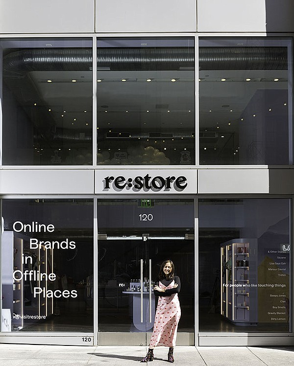 Re:store founder Selene Cruz brings online brands into physical spaces.