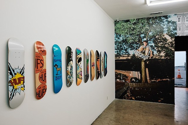 "Image from the ""Huf Forever"" gallery show. Photos: Huf"