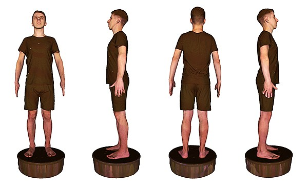 3DLook's new 3D Body Scanning Lab is adding more body-scanning data to provide even more sizing accuracy. Currently, 3DLook's technology can collect more than 70 measurements of a consumer's body. | Photo courtesy of 3DLook
