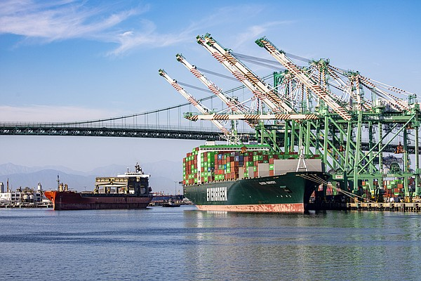 "The Port of Los Angeles experienced record-high numbers for October but also issued concerns about ""volume swings."" 