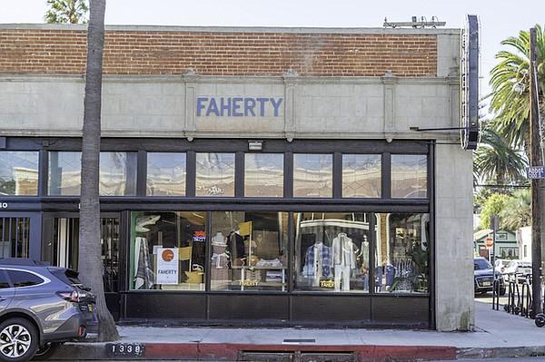 Abbot Kinney Boulevard的新的Faherty商店。照片:Faherty.