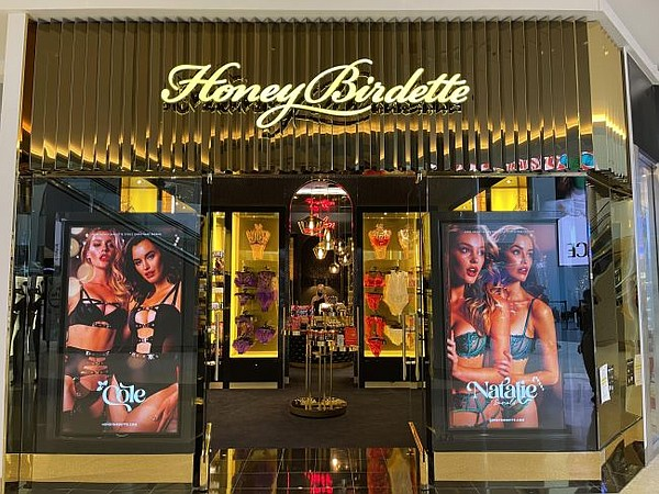 Exterior of Beverly Center Honey Birdette