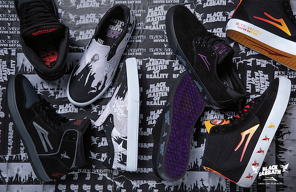 Lakai x Black Sabbath. Picture: Lakai