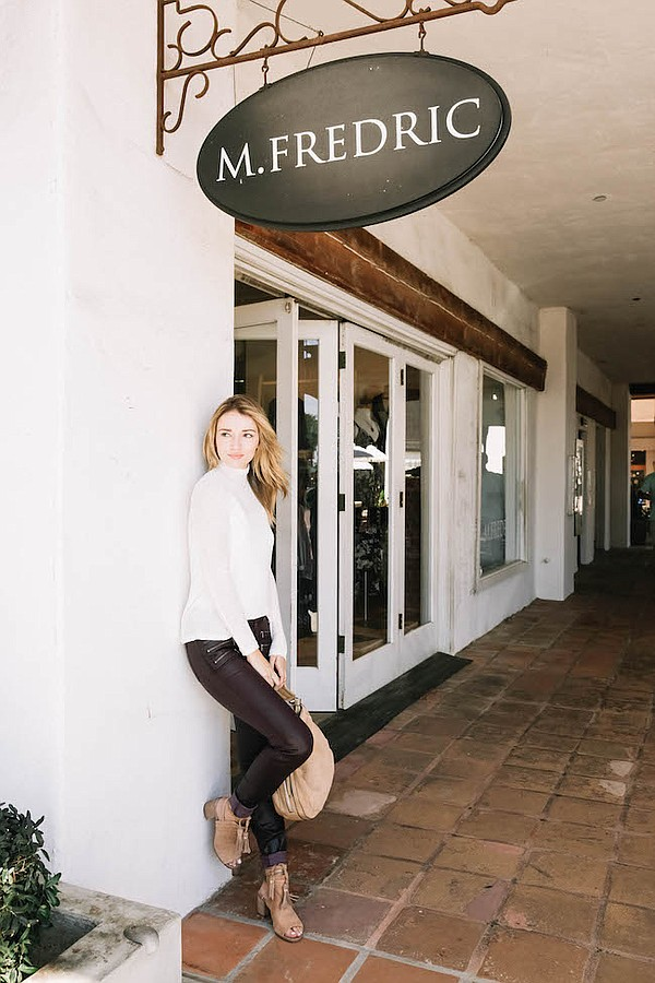 M.Fredric store in Malibu, Calif. Picture: M.Fredric