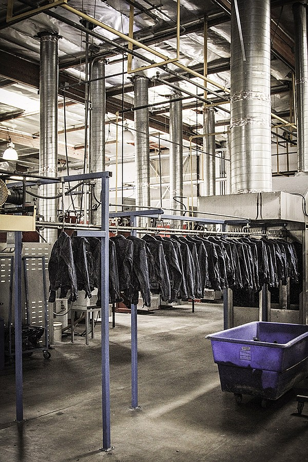With the addition of the Stars Fade International wash-and-finish factory, based in Los Angeles, Artistic Milliners gains crucial nearshoring capacity and an expected increase in production from 100,000 units currently to 300,000 by May. | Photo courtesy of SFI