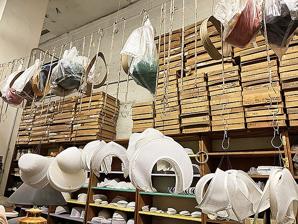 A fixture in downtown Los Angeles and a valuable resource to the city's fashion and entertainment-costuming industries, California Millinery Supply Co. is in danger of shuttering due to challenges stemming from COVID-19 economic strain.