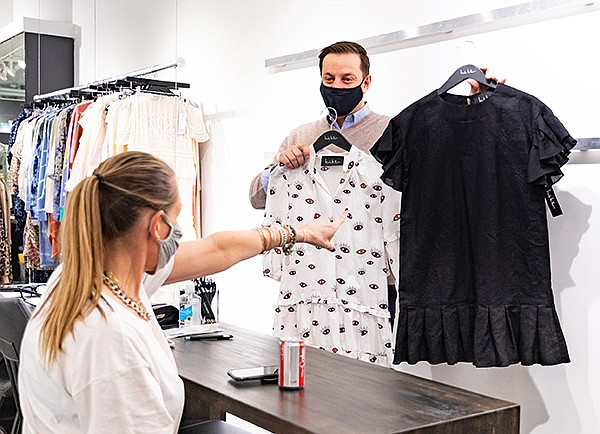 Throuighout 2020, Atlanta Apparel slowly opened up on-site shows, adhering to the strictest safety measures, allowing it to achieve pre-pandemic levels. | Photo courtesy of Atlanta Apparel