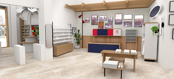 Rendering of Fred Segal's Women's boutique at Resorts World Las Vegas. Image: Fred Segal