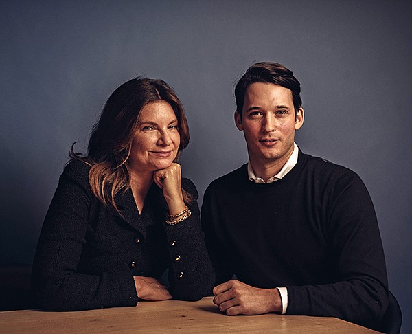 Natalie Massenet and Nick Brown