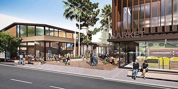 The Shops at Sportsmen's Lodge, a 95,000-square-foot space in the San Fernando Valley formerly occupied by a meeting-and-convention facility, will welcome visitors during late summer or early fall 2021 following a $100 million redevelopment.