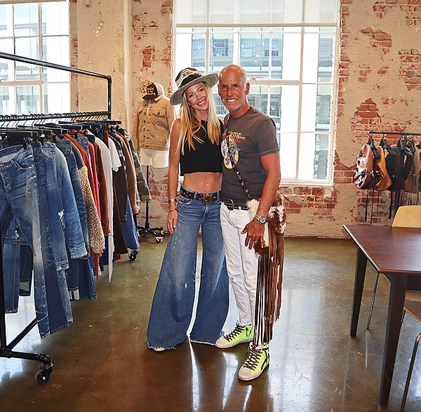 Jeff Lubell and his wife, Carrie, co-designed the Coût De La Liberté line, based on a freedom theme that is fresh and fun.
