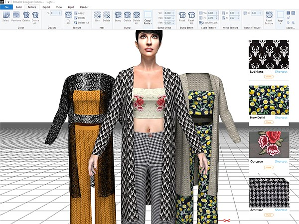 The Sowtex Design Lab will combine Tukatech's 3D Visualizer to enable designers, garment manufacturers and fashion brands to make the sampling process quick and easy.   Image courtesy of Tukatech