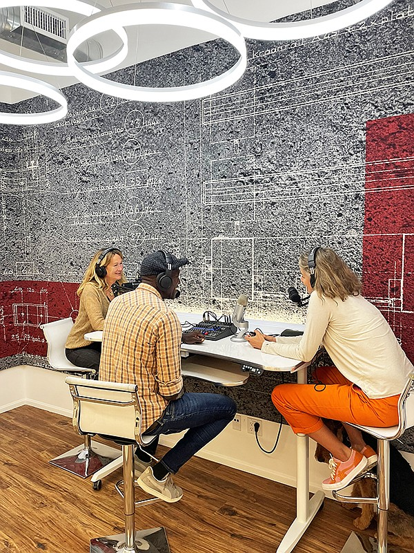 Fashion Tech Works' tools for content creation include a studio for videography and photography, a podcast space, social-media cultivation, digital-marketing opportunities, and augmented-reality and virtual-reality technologies. | Photo courtesy of Fashion Tech Works