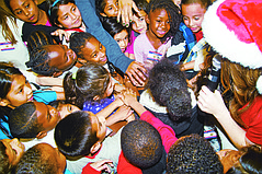 CFF and TALA Celebrate 67th-Annual Holiday Party for Neighborhood Kids