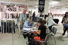 Exhibitor Shuffle at LA Textile Show