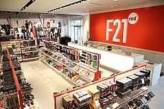 Forever 21 Opening Three New F21 Red Stores