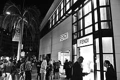 Fendi Takes a Bow on Rodeo Drive