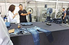 Denim With Less Water Demonstrated, Discussed at Calik Event at ECO PRK