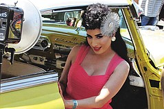 Lowriders and Pin-Ups at L.A. Classic Car Show