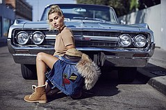 UGG Kicks Off New Fall Collection with Hailey Baldwin