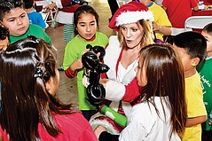 CFF and TALA Celebrate Christmas With Neighborhood Kids