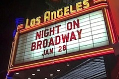 Night on Broadway: Spectators and Sights!