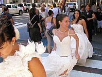 Get Wrapped Up in the Toilet Paper Wedding Dress Contest