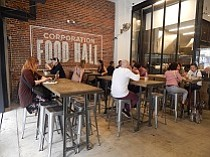 Eating Hall Opens in LA Fashion District