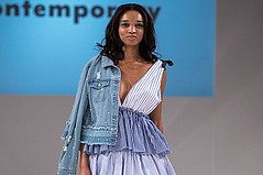 Denim Dominates on the Runway at Directives West Trends Forecast