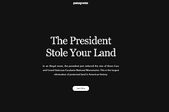 Patagonia Sues Trump