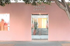 Mansur Gavriel Takes a Melrose Place Bow