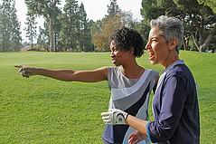 Women's Golf Wear Takes Shape in Los Angeles