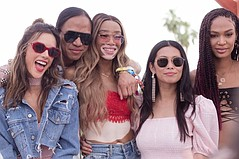 Revolve Parties at Coachella with the Famous & Beautiful